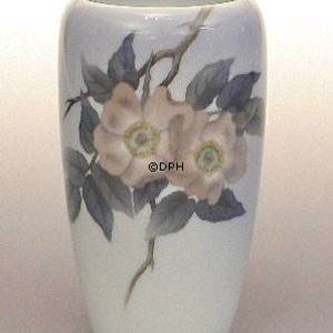 Vase with Wild Rose, Royal Copenhagen