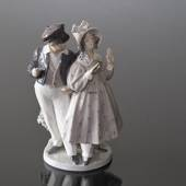 Hans & Trine, boy and girl, Royal Copenhagen figurine