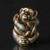 Monkey, sitting, 8,5cm, Royal Copenhagen Stoneware figurine