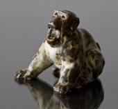 Monkey, Royal Copenhagen Stoneware figurine
