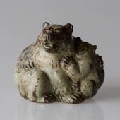 Bear with Cub, Royal Copenhagen Stoneware figurine No. 20193