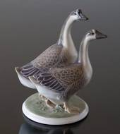 Group of Geese, Royal Copenhagen bird figurine
