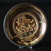 Stoneware bowl with elephant Royal Copenhagen