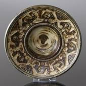 Stoneware bowl with patterns, Royal Copenhagen