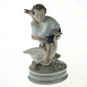 The Goose Thief, Boy with Geese, Royal Copenhagen figurine No. 2139