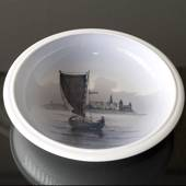 Bowl with Kronborg, Royal Copenhagen