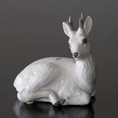 White deer, Royal Copenhagen figurine no. 1003239