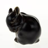Young rabbit, Royal Copenhagen stoneware figurine No. 22685