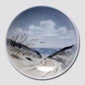 Bowl with Landscape of the North Sea, Royal Copenhagen
