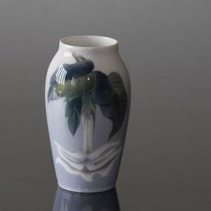 Vase with Flower hanging down, Royal Copenhagen No. 2687-88-A | No. R2687-88-A | Alt. r2687-88a | DPH Trading