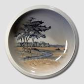 Bowl with Landscape, Royal Copenhagen