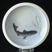 Bowl with Fish, Royal Copenhagen No. 2926-2559