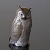 Owl, Royal Copenhagen bird figurine no. 2999