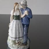Henrik & Else, man & woman, Royal Copenhagen figurine