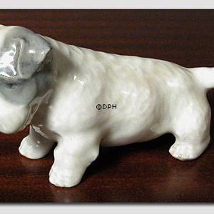 Sealyham terrier 5cm, Royal Copenhagen dog figurine