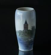 Vase with the Goose tower in Vordingborg, Royal Copenhagen