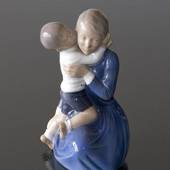 Mother with child, Royal Copenhagen figurine No. 3457