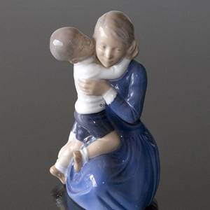 Mother with child, Royal Copenhagen figurine