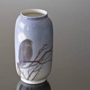 Vase with owl, Royal Copenhagen | No. R347-107 | DPH Trading