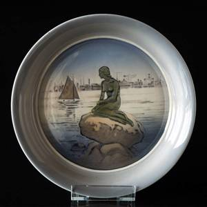 Bowl with the little mermaid, Royal Copenhagen | No. R3643 | Alt. r2830-1125 | DPH Trading