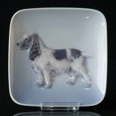 Bowl with Cocker Spaniel, Royal Copenhagen