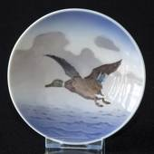 Bowl with wild duck flying, Royal Copenhagen No. 3675