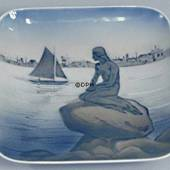 Bowl with the little mermaid, Royal Copenhagen no. 1024375 / 4090