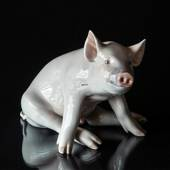 Pig, Royal Copenhagen figurine No. 414