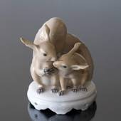 Pair of squirrels, Royal Copenhagen figurine nr. 416