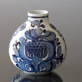 Faience vase, signed CK, Royal Copenhagen