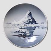 Bowl with Greenlandic Iceberg Motif, Royal Copenhagen No. 4365