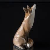 Large fox, Royal Copenhagen figurine No. 437