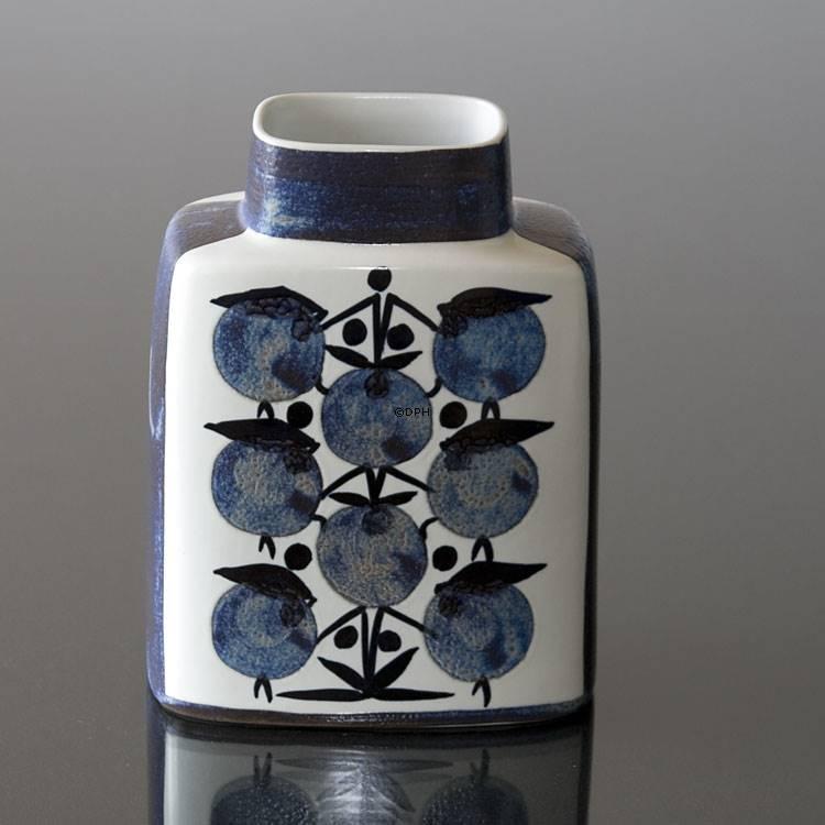 Faience Vase Signed Sh Royal Copenhagen No R441 3121 F Dph