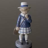 Girl with satchel, Royal Copenhagen monthly figurine, September No. 4531