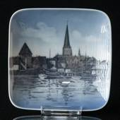Bowl with Aarhus harbour, Royal Copenhagen