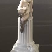 Faun with squirrel, Royal Copenhagen figurine No. 456