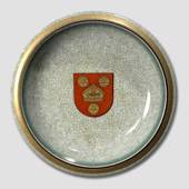 Bowl with town arms craquele, Royal Copenhagen No. 459-2559