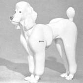 Poodle, Royal Copenhagen dog figurine