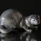Mink, grey, Royal Copenhagen figurine