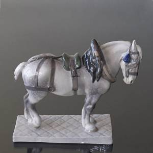 Percheron, Royal Copenhagen horse figurine | No. R471 | DPH Trading