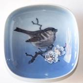 Bowl with House Sparrow, Royal Copenhagen