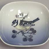 Bowl with Great Tit, Royal Copenhagen No. 4859