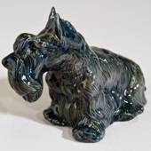 Skottish terrier, Royal Copenhagen dog figurine