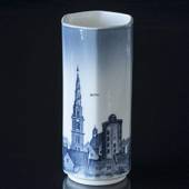Vase with the Towers of Copenhagen, Royal Copenhagen No. 5080