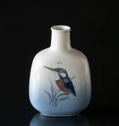 Vase with Kingfisher, Royal Copenhagen