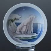 Bowl with polar bear, Royal Copenhagen