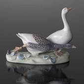 Group of Geese, two Geese, Royal Copenhagen figurine