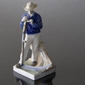 Man with Scythe, Royal Copenhagen figurine No. 685