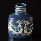 Faience vase designed by Nils Thorsson, Royal Copenhagen
