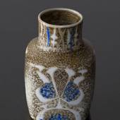 Faience vase by Nils Thorssen, Royal Copenhagen No. 720-3361